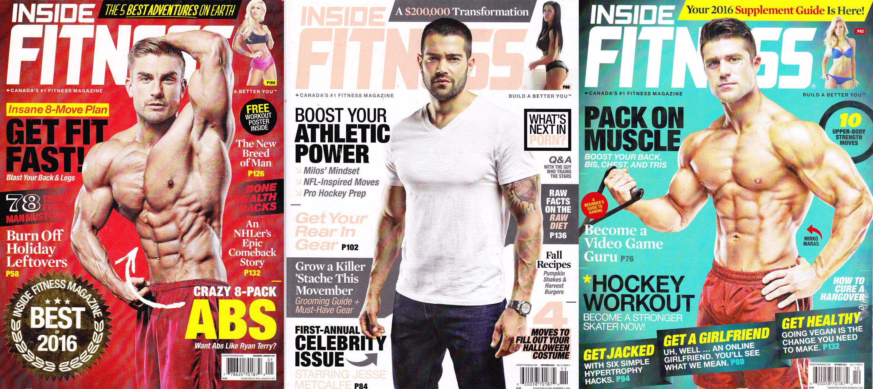 Dan Edmunds and Matt Johnson are contributors to Inside Fitness Magazine